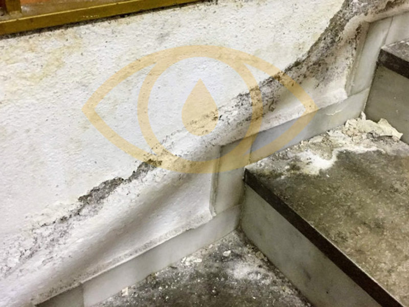 How to remove dampness by capillarity