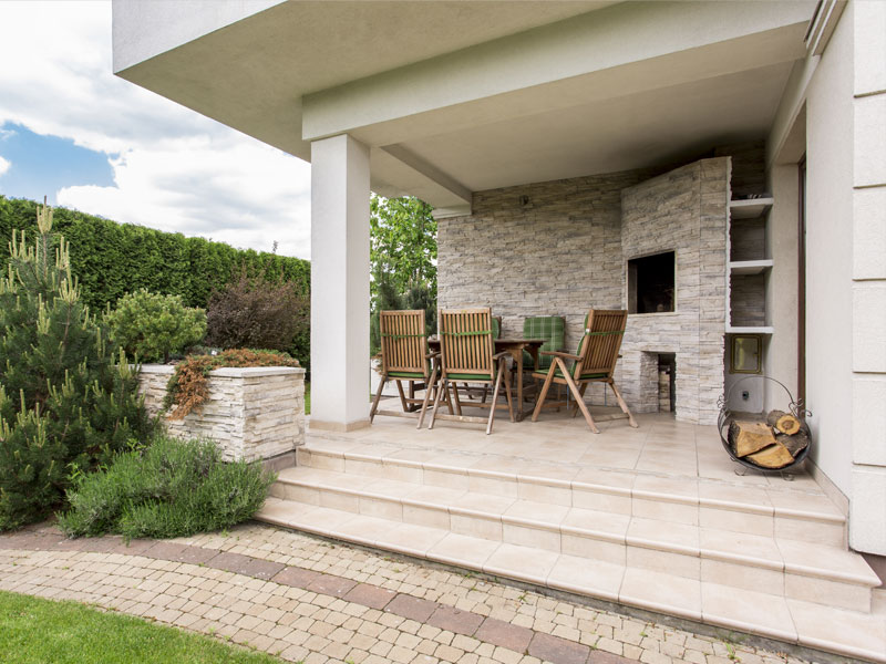 Waterproofing of terraces